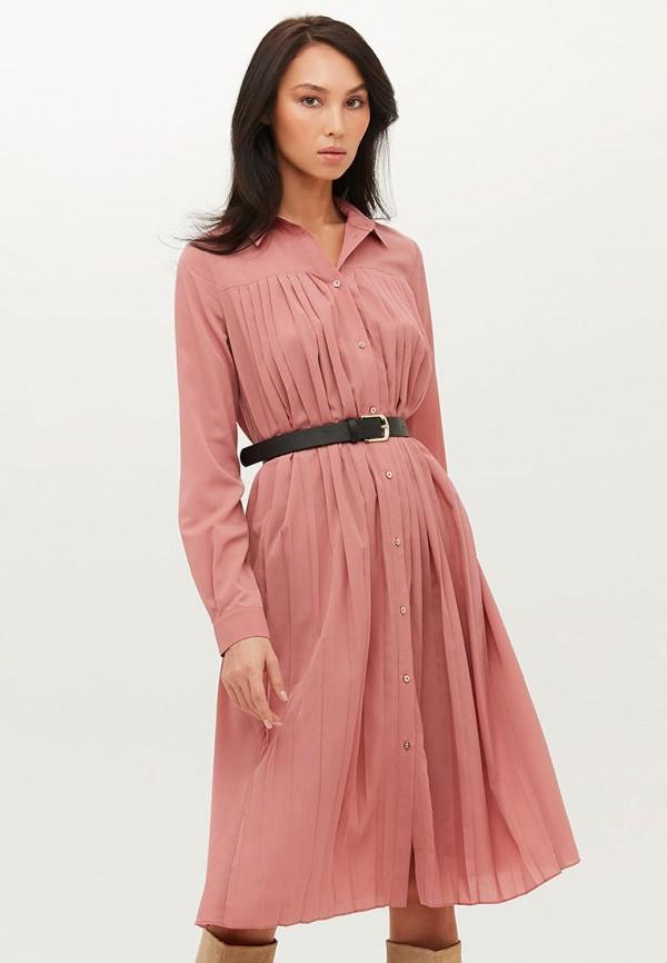 женское платье-рубашки love republic, розовое