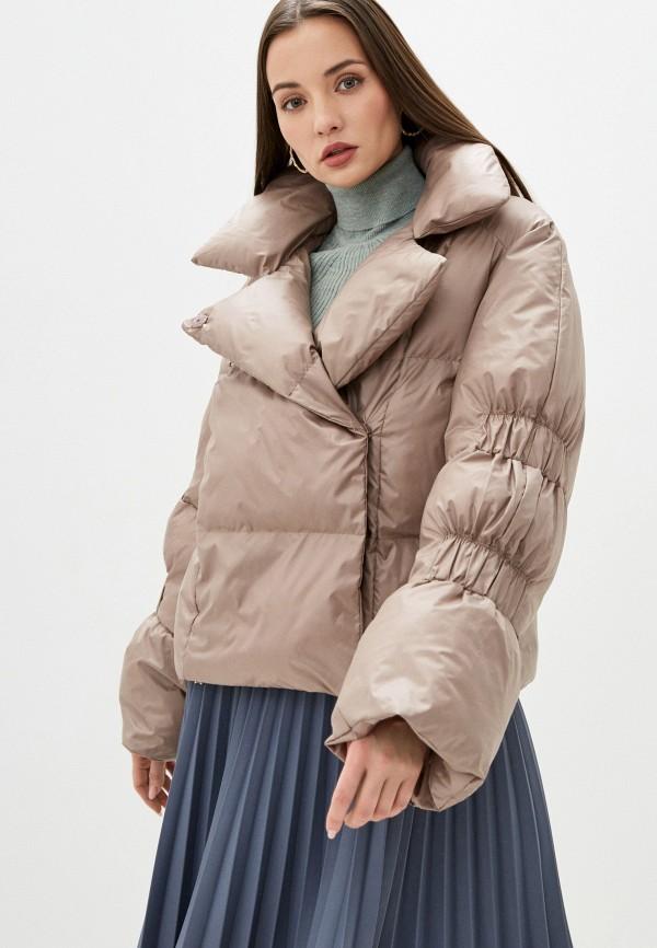 Куртка утепленная Alisia Hit Alisia Hit  бежевый фото