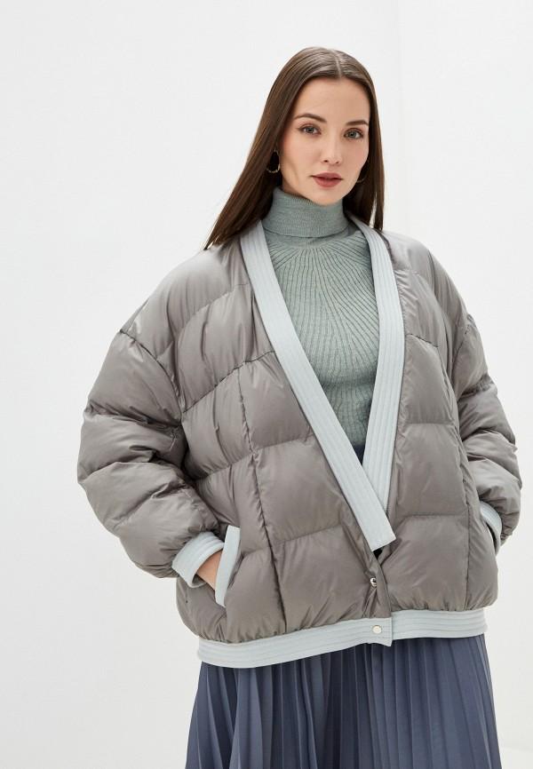 Куртка утепленная Alisia Hit Alisia Hit  серый фото