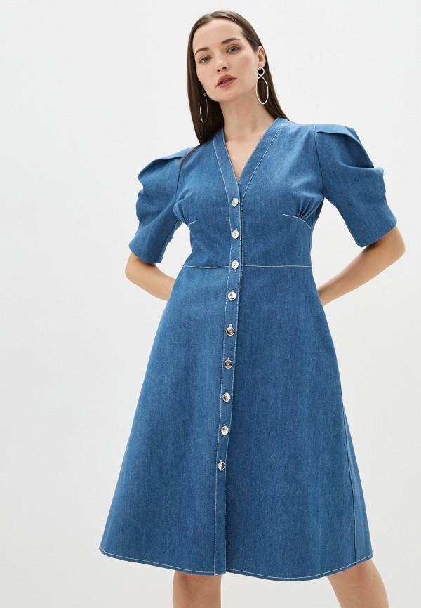 Платье джинсовое Alisia Hit Alisia Hit  синий фото