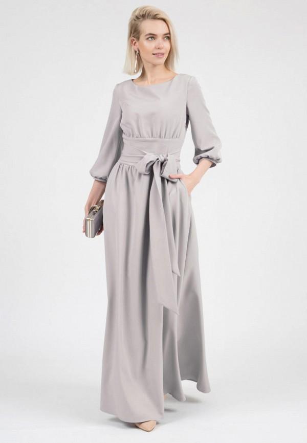 женское вечерние платье olivegrey, серое