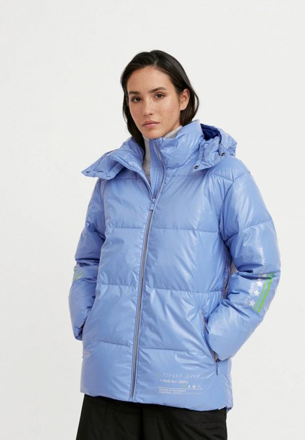 Куртка утепленная Finn Flare голубого цвета