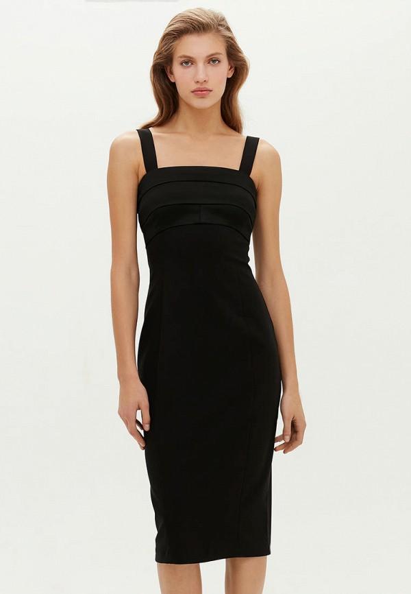 женское повседневные платье love republic, черное