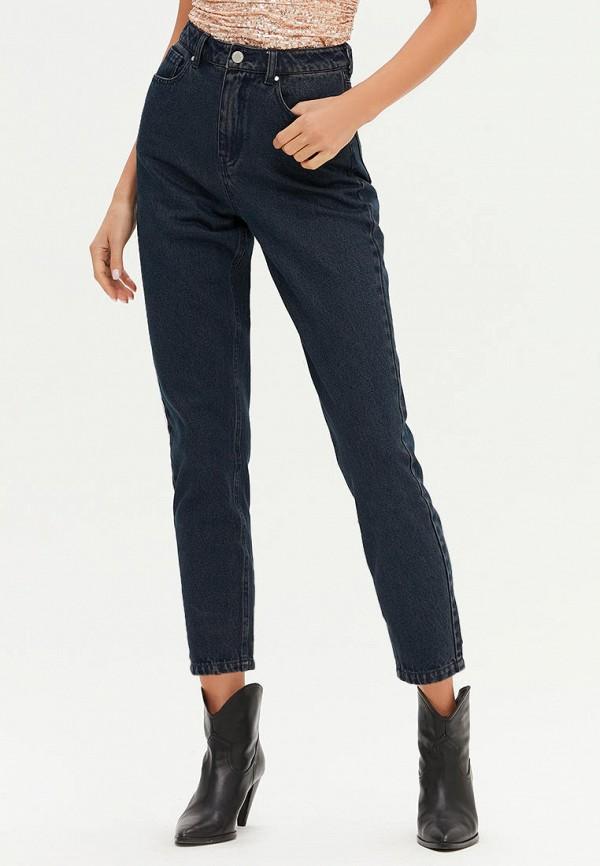 женские джинсы-мом love republic, синие