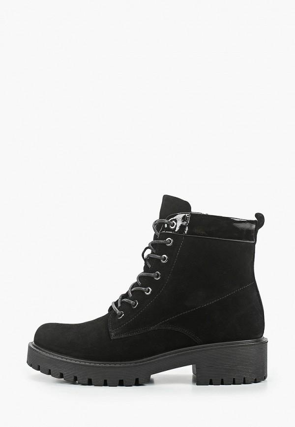 женские низкие ботинки zenden, черные