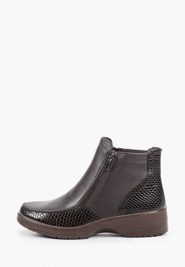 женские высокие ботинки instreet, коричневые