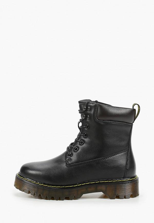 женские высокие ботинки zenden, черные