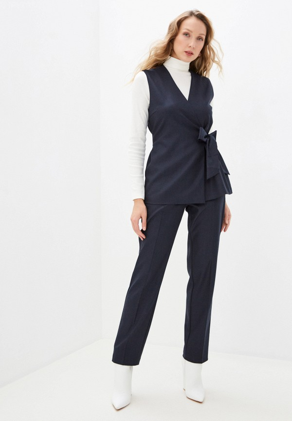 женский костюм vittoria vicci, синий