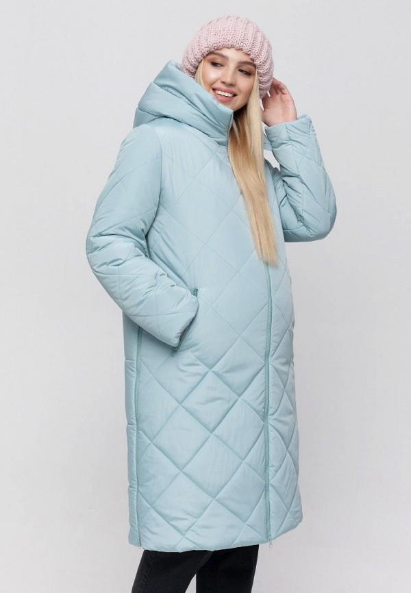 женская куртка юла мама, голубая