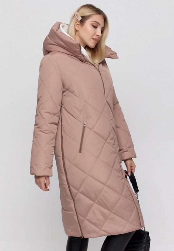 женская куртка юла мама, бежевая