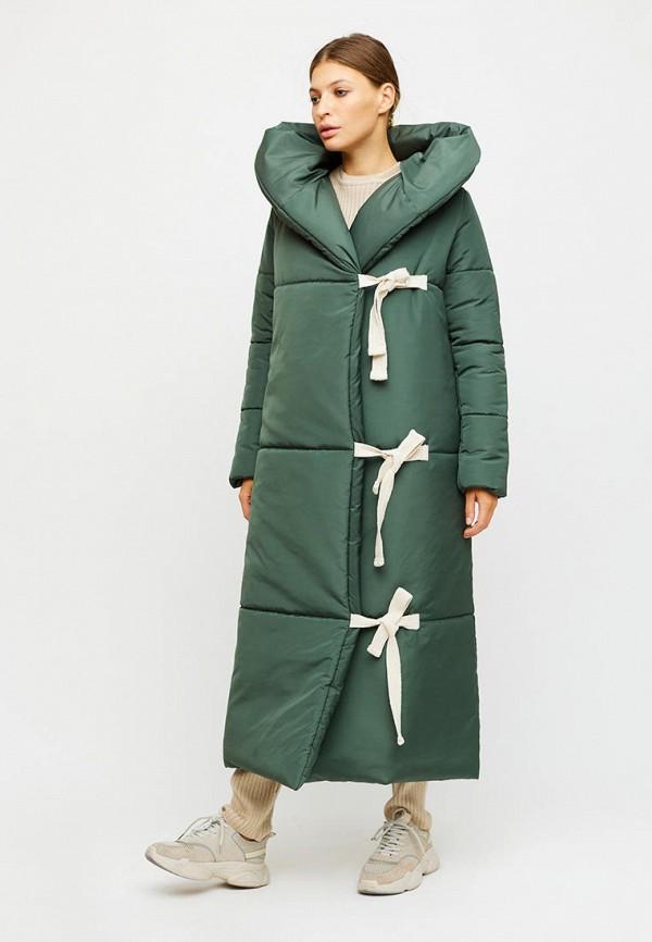 женская куртка karree, бирюзовая