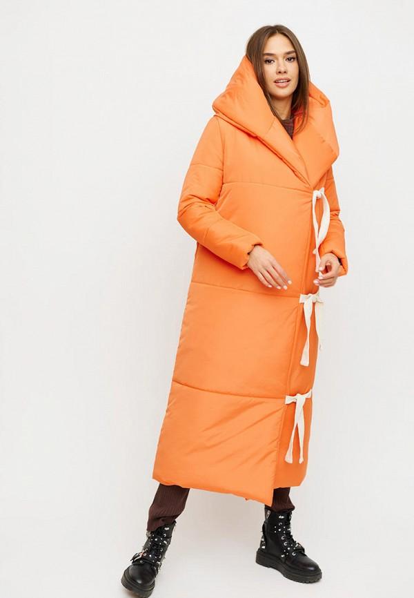 женская куртка karree, оранжевая