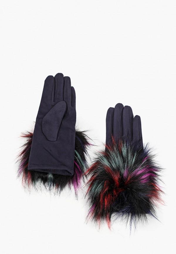 женские текстильные перчатки модные истории, синие