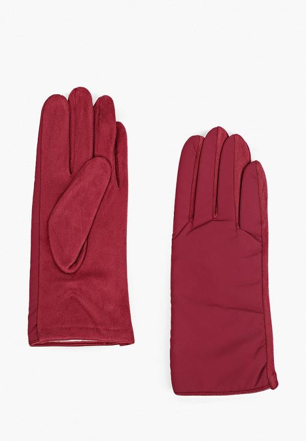 женские текстильные перчатки модные истории, бордовые