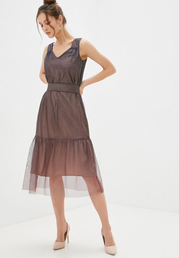 Платье Akhmadullina Dreams Akhmadullina Dreams  коричневый фото