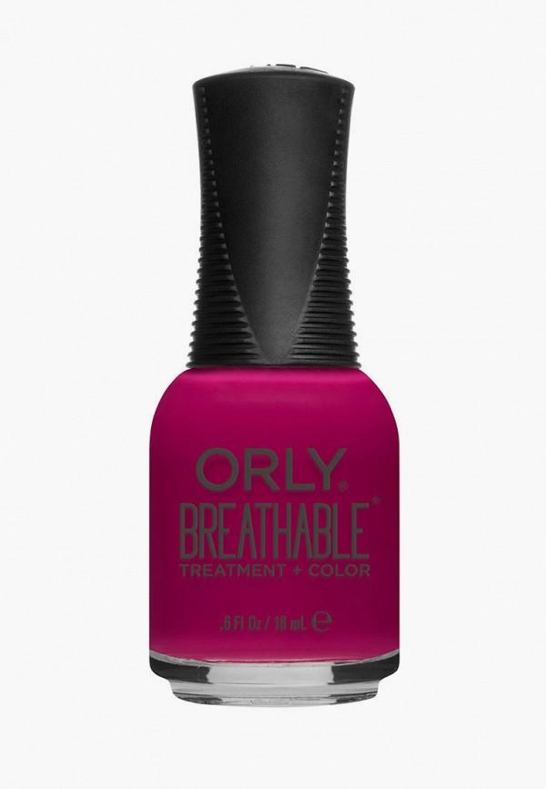женский лак для ногтей orly, розовый