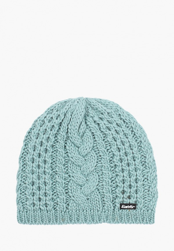 женская шапка eisbar, голубая