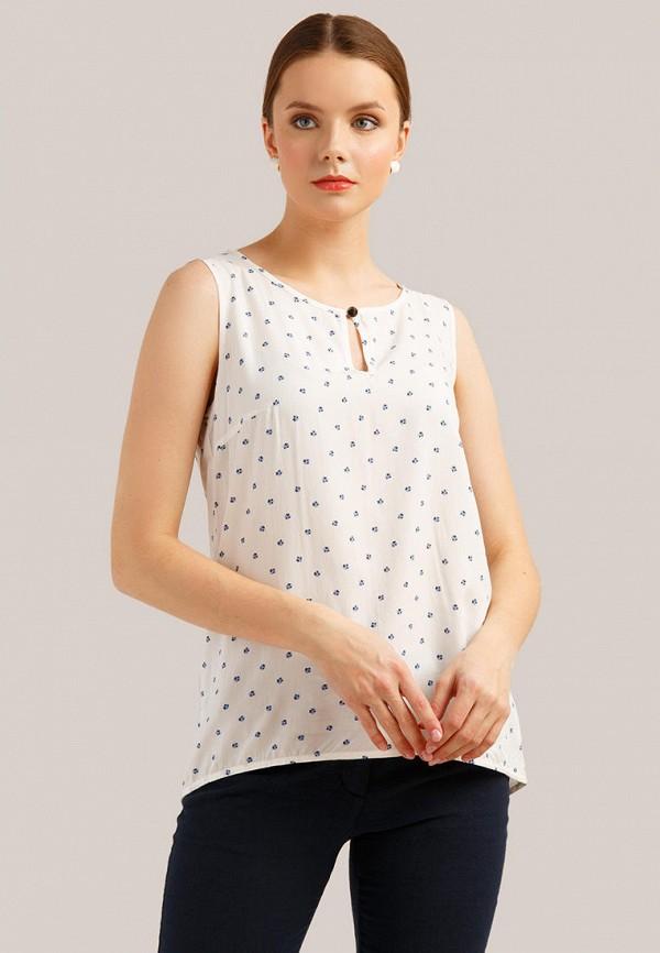 женская блузка finn flare, белая