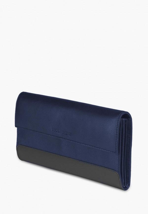 женский кошелёк moleskine, синий