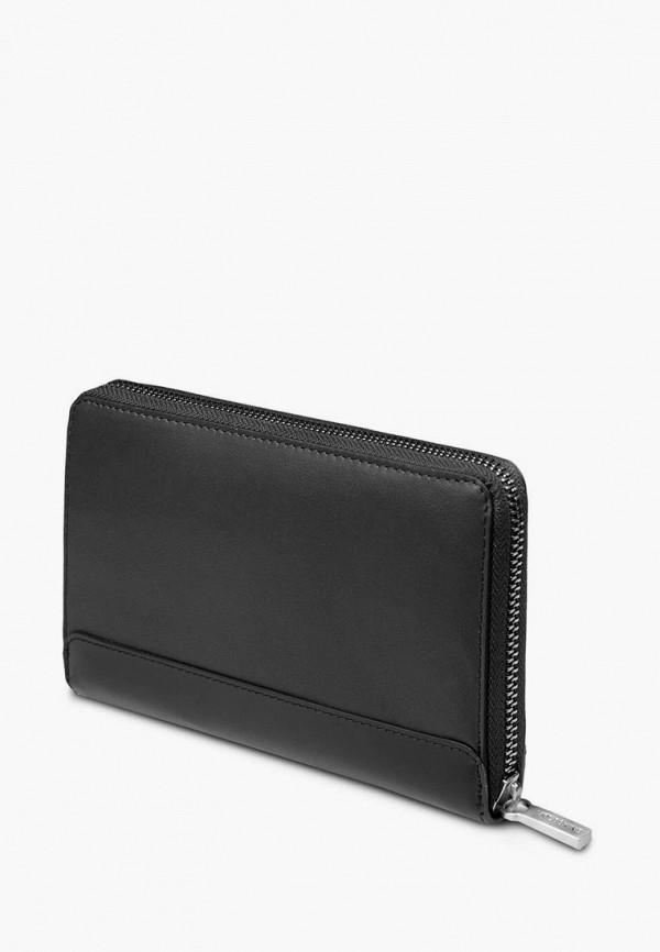 женский кошелёк moleskine, черный