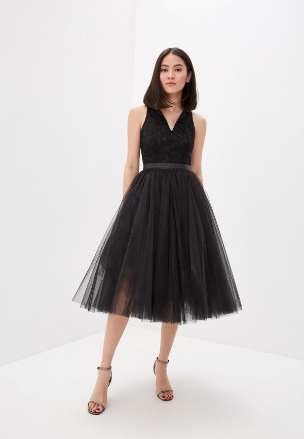 женское вечерние платье m,a,k you are beautiful, черное
