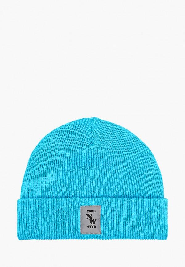 женская шапка staix, голубая