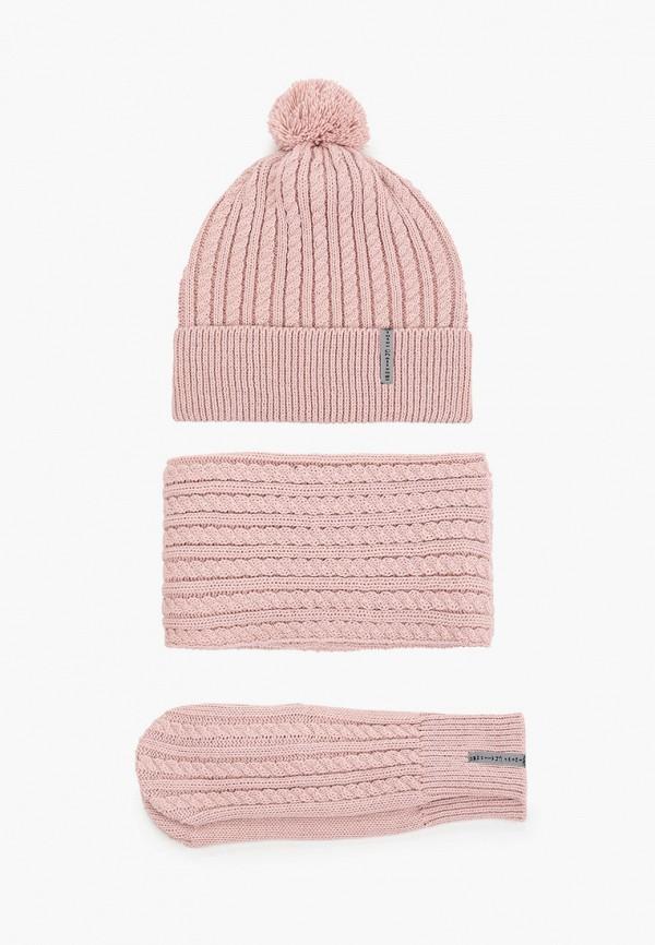 женский шарф staix, розовый