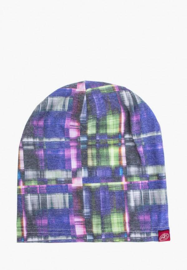 женская шапка anna bask, разноцветная