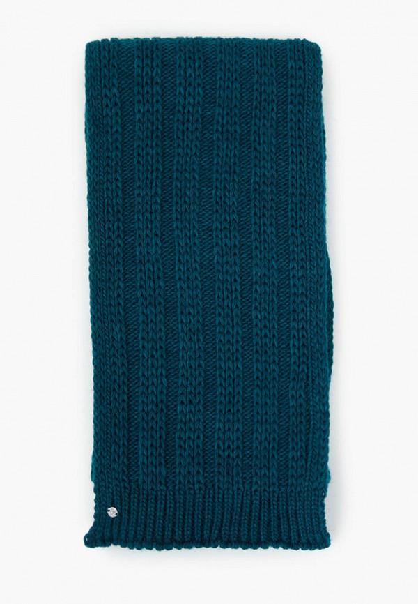 женский шарф finn flare, бирюзовый