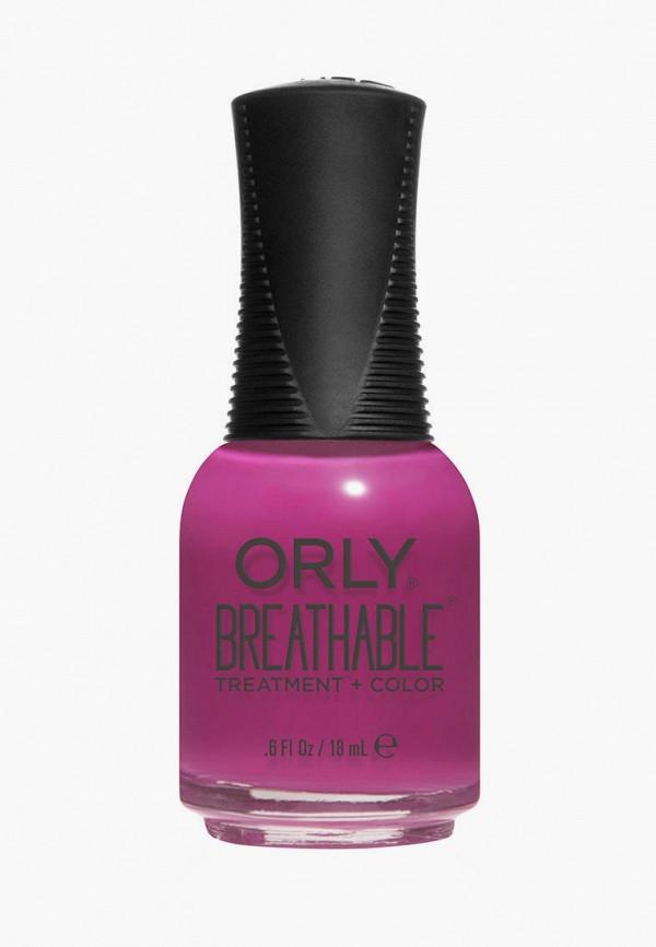 женский лак для ногтей orly, фиолетовый