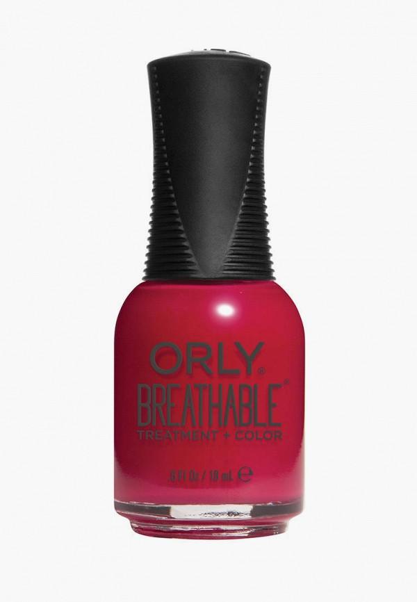 женский лак для ногтей orly, бордовый