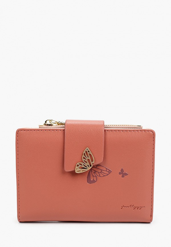 женский кошелёк mon mua, розовый