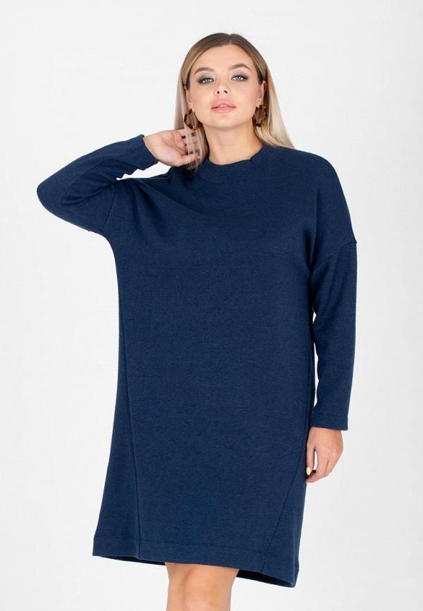 женское платье-толстовки eliseeva olesya, синее
