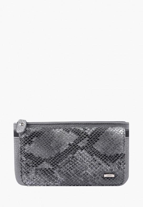 женский кошелёк esse, серый