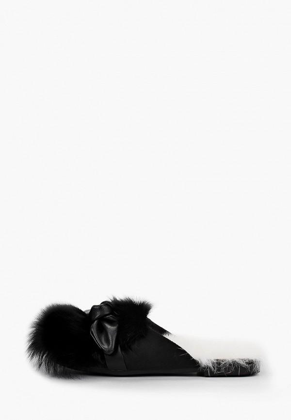 женское сабо stivalli, черное
