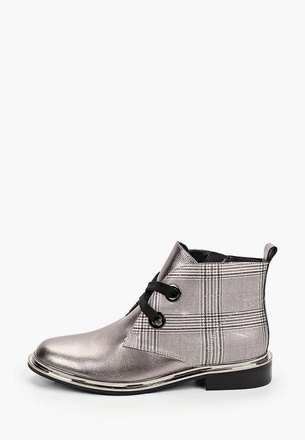 женские высокие ботинки tuffoni, серебряные