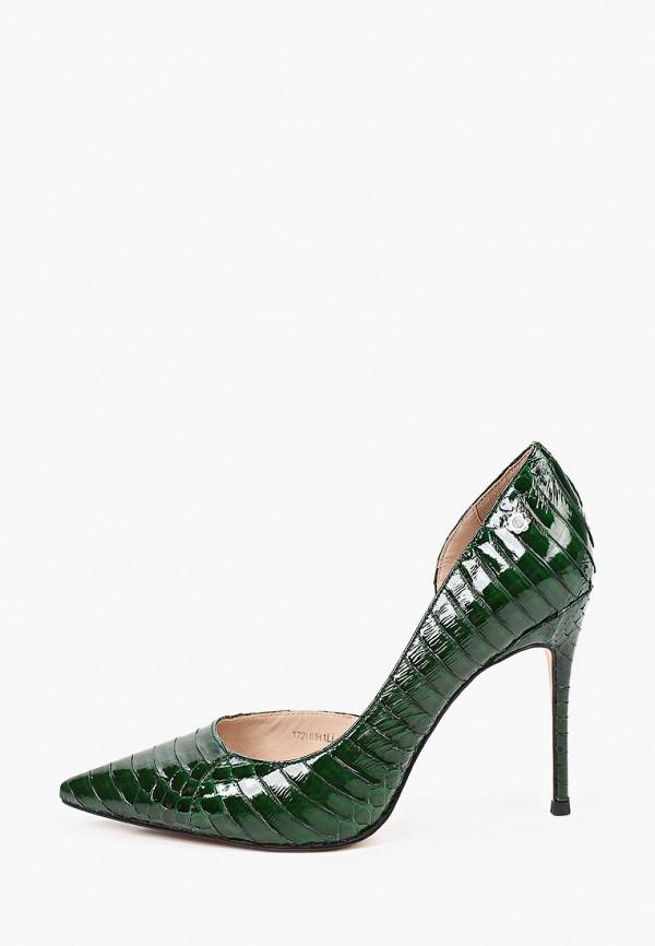 женские туфли tuffoni, зеленые