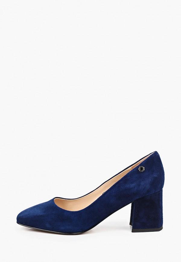 женские туфли с закрытым носом tuffoni, синие