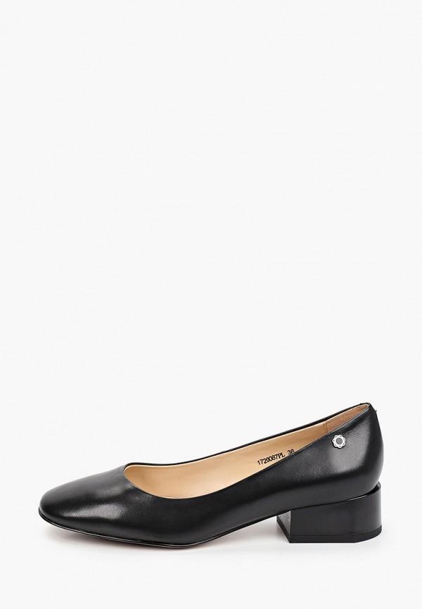 женские туфли с закрытым носом tuffoni, черные