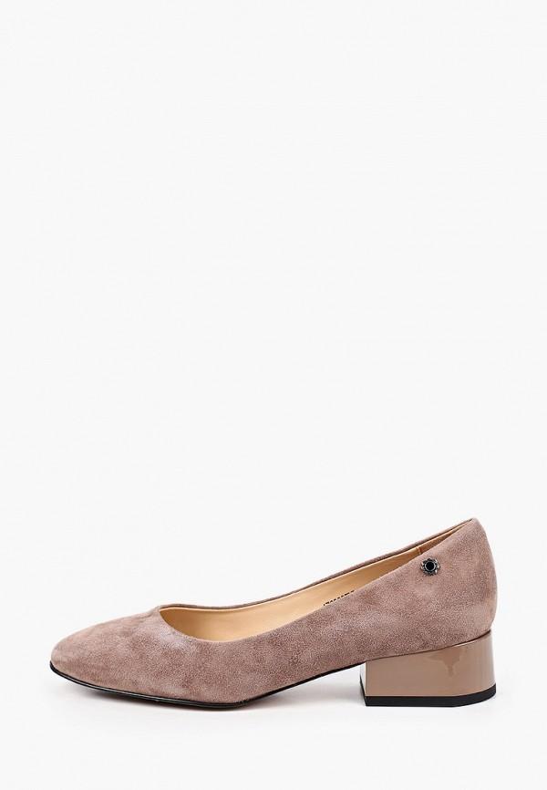 женские туфли с закрытым носом tuffoni, бежевые