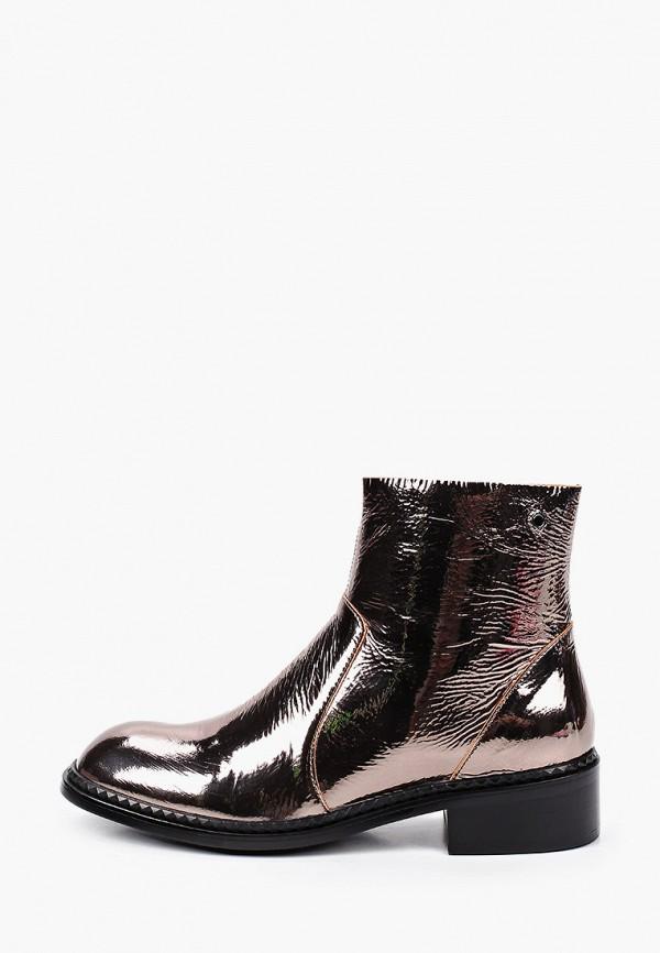 женские высокие ботинки tuffoni, золотые