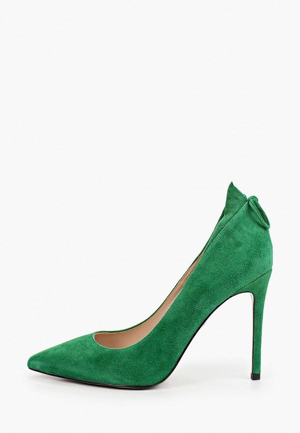 женские туфли-лодочки tuffoni, зеленые