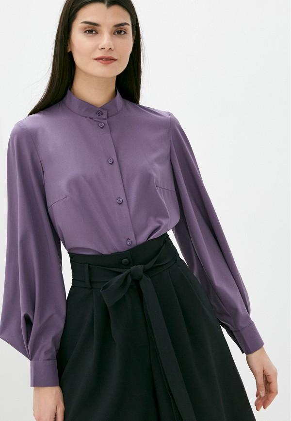женская блузка с длинным рукавом viserdi, фиолетовая