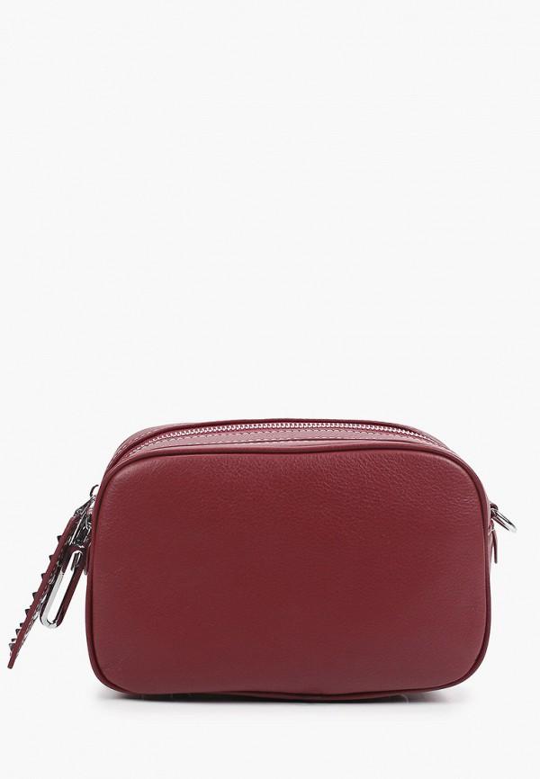 женская сумка через плечо mironpan, бордовая