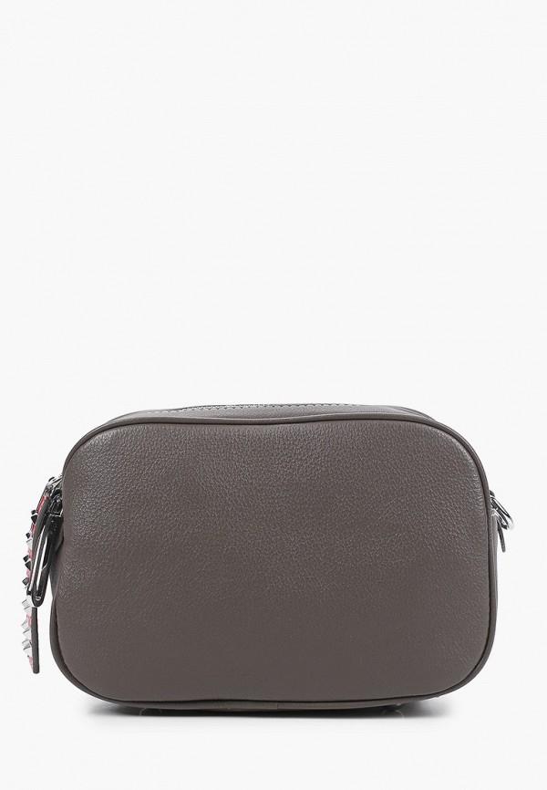 женская сумка через плечо mironpan, серая