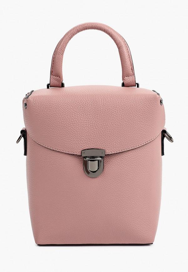 женская сумка с ручками mironpan, розовая