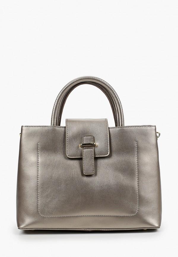 женская сумка с ручками mironpan, серая