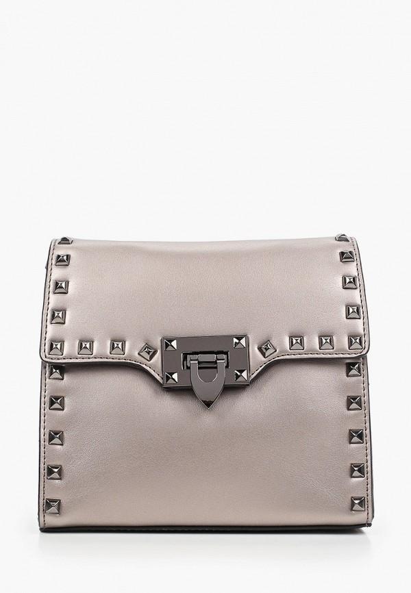 женская сумка через плечо mironpan, коричневая