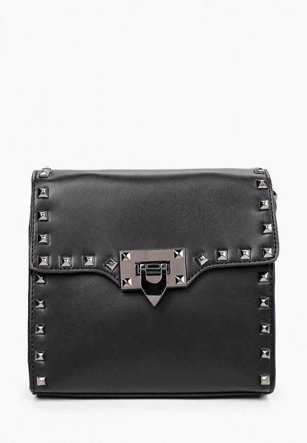 женская сумка через плечо mironpan, черная