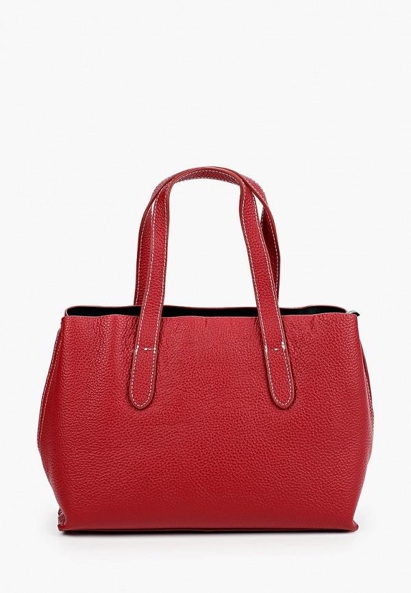 женская сумка с ручками mironpan, бордовая